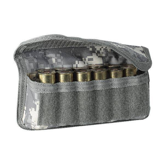 Voodoo Tactical MOLLE Compatible Vertical Shotgun Shell Ammo Pouch 20-9731