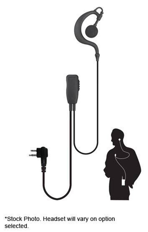 Code Red Headsets Watchman Lapel Microphone for 2- Way Radios WATCHMAN