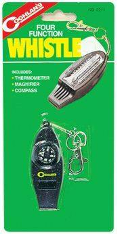 Coghlans Four Function Whistle 0044-CO 056389000445