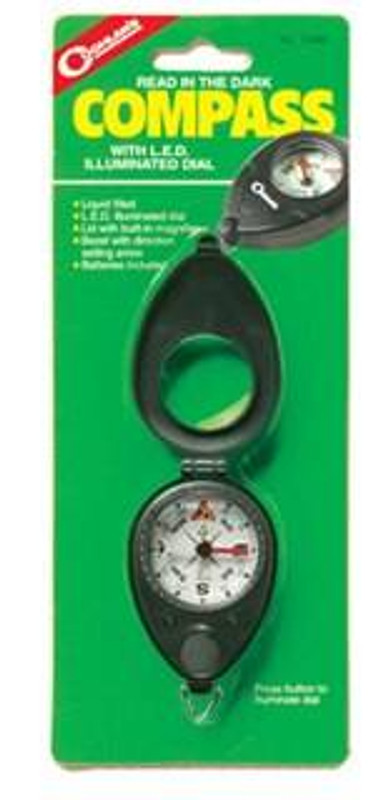 Coghlans Compass with LED 0448 056389004481
