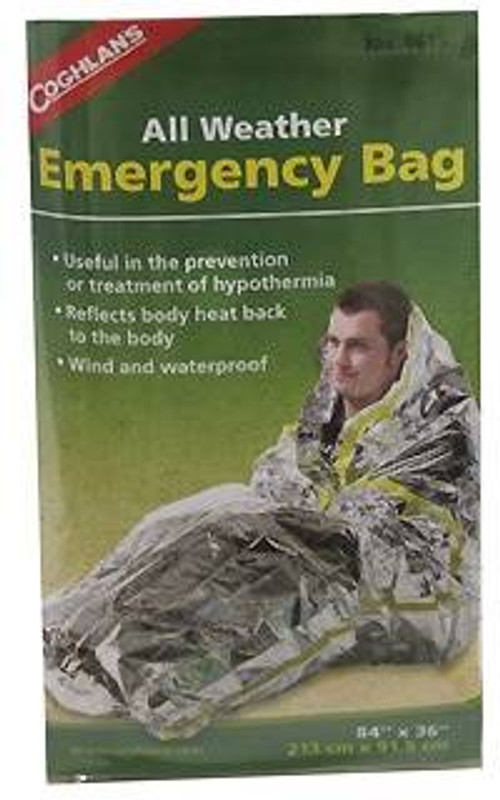 Coghlans All-Weather Emergency Bag 9815 056389098152