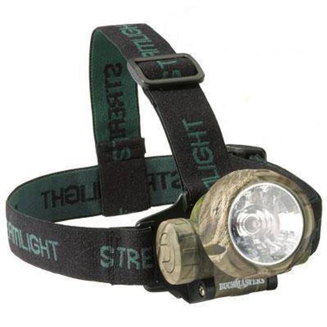 Streamlight Buckmasters Camo Trident Xenon/LED Combo Headlamp 61070-ST 080926610705