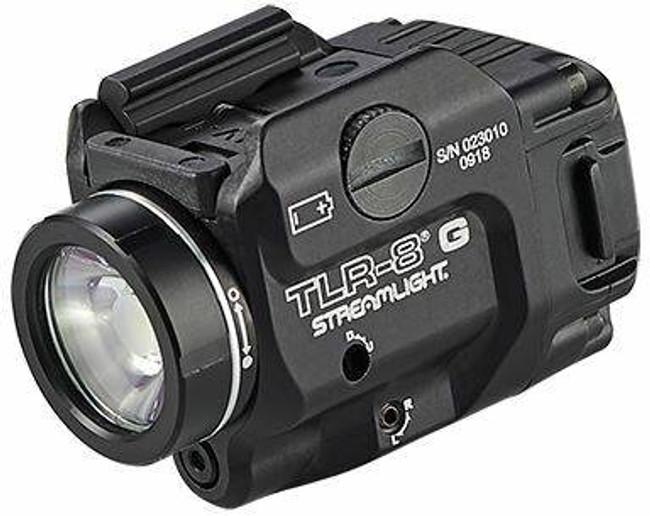 Streamlight TLR-8 G 500 Lumen Weapon Light with Green Laser 69430 080926694309
