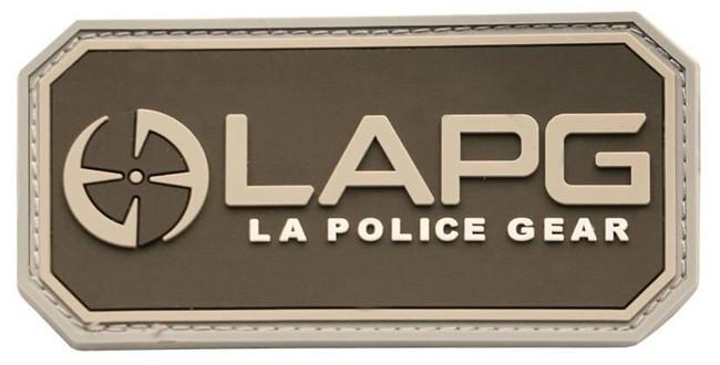 LA Police Gear Logo Patch - New PATCH-LOGO-NEW-PATCH