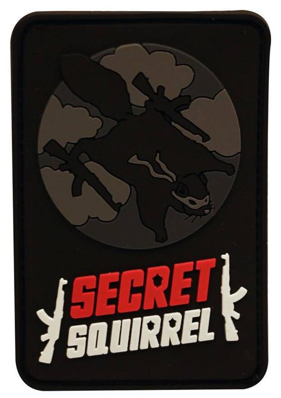 LA Police Gear Secret Squirrel PVC Patch PATCH-SQUIRREL 172300000001