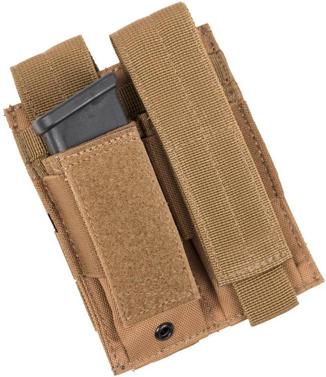 LA Police Gear Double Pistol Mag Pouch DPP