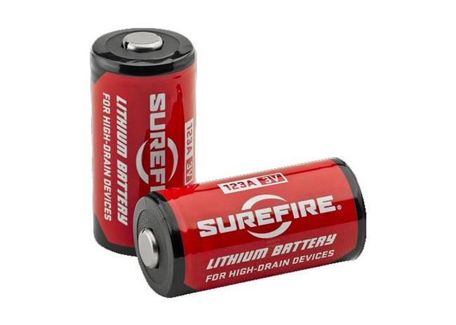 SureFire 123A Lithium Batteries - 12 Pack 12PK 084871820134