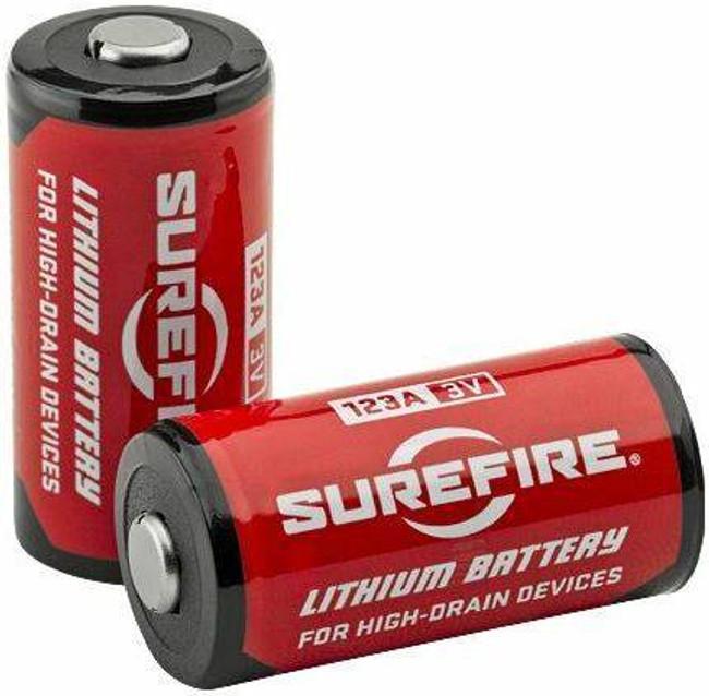 SureFire 123A Lithium Batteries - 8 Pack 8PK