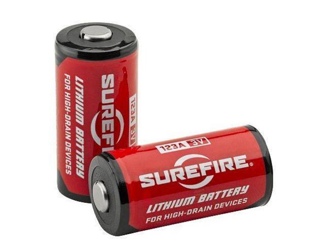 SureFire 123A Lithium Batteries - 2 Pack 2PK 084871820141