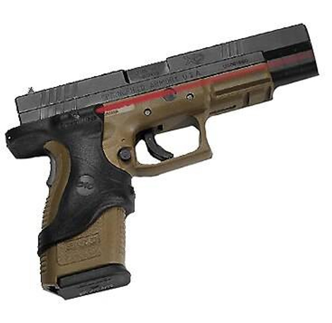 Crimson Trace Springfield Armory XD9mm-.45GAP - Polymer Overmold Front Activation Laser Grip LG-446 610242004461