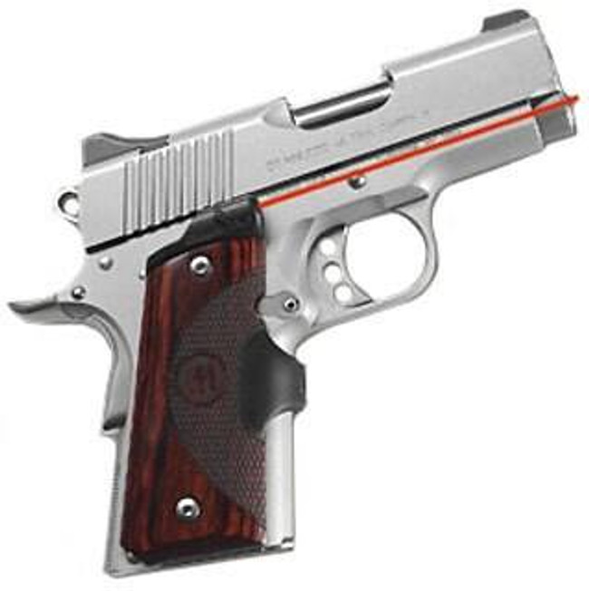 Crimson Trace 1911 Officers/Compact/Defender Master Series Rosewood LG-902 610242001781