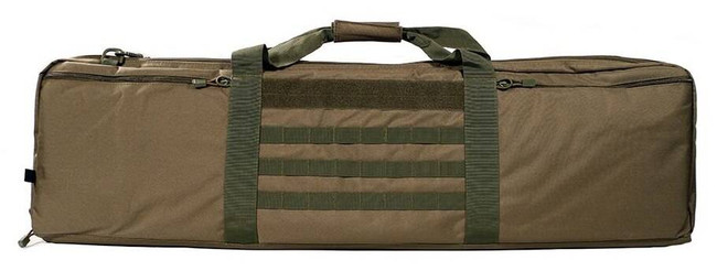 LA Police Gear Single 42 Rifle Case with Shoulder Strap SINGLE-42-RC
