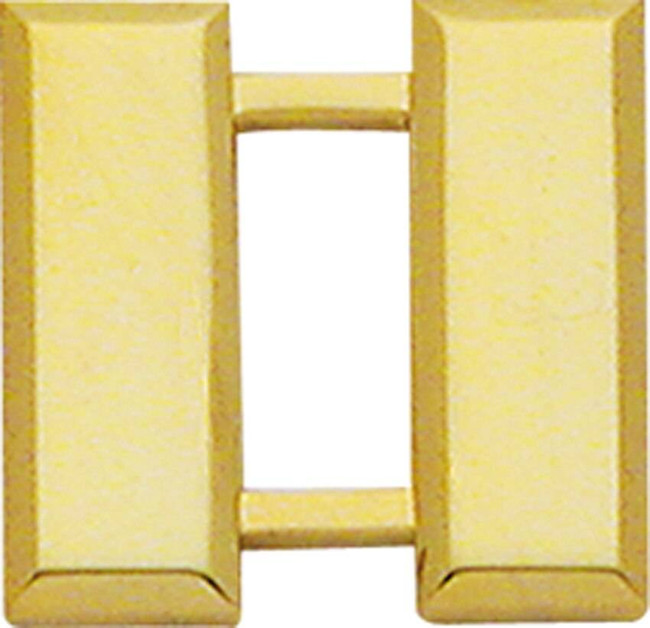 Smith and Warren Large Double Captain Rank Bar Insignia W18