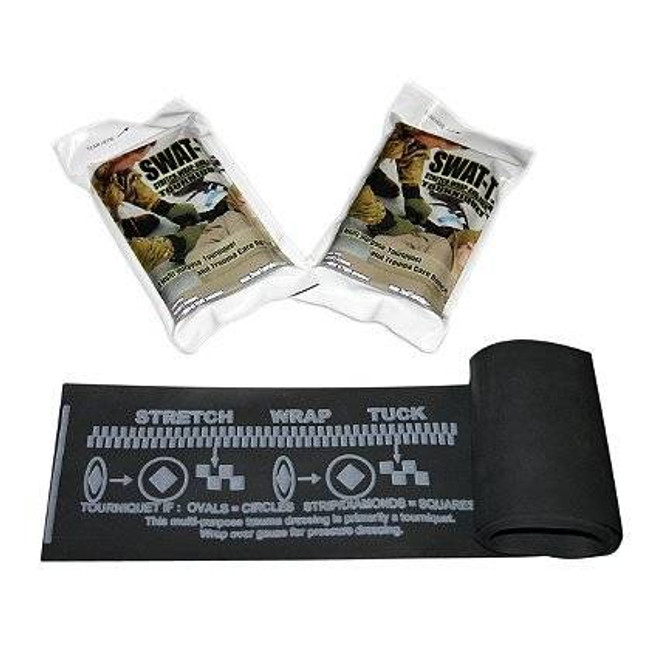 SWAT-T Stretch-Wrap-And Tuck Tourniquet T 857048006392