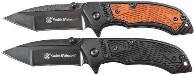 SandW Pistol Grip Folding Knife Combo Pack 1085962 661120414889