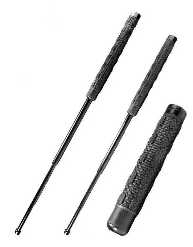 Smith and Wesson Heat Treated Collapsible Batons with Sheath BATON-SW