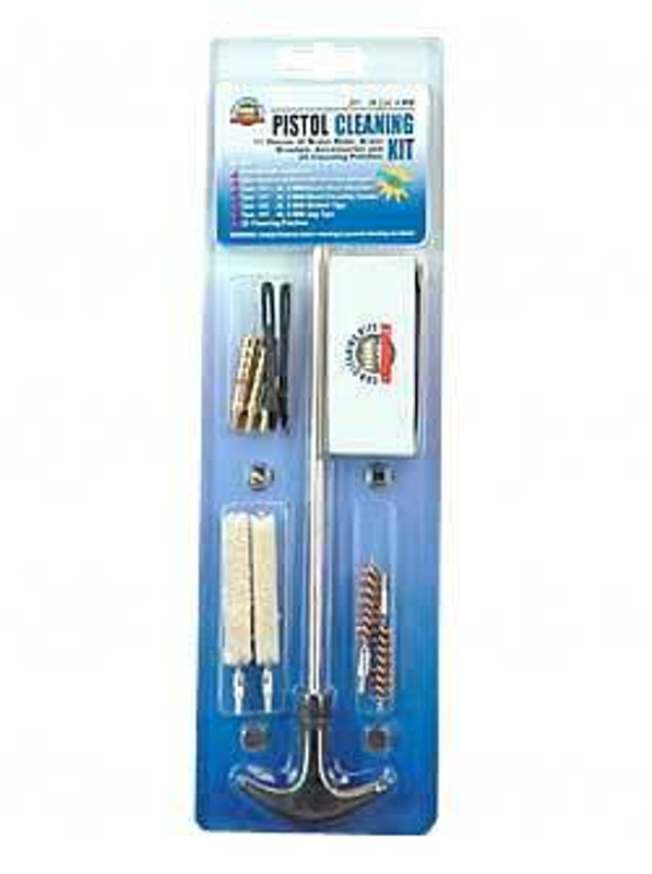 DAC Technologies Pistol Cleaning Kit 38/357/9mm/380 Clam Pack PCK 09M PCK-09M 761903367125