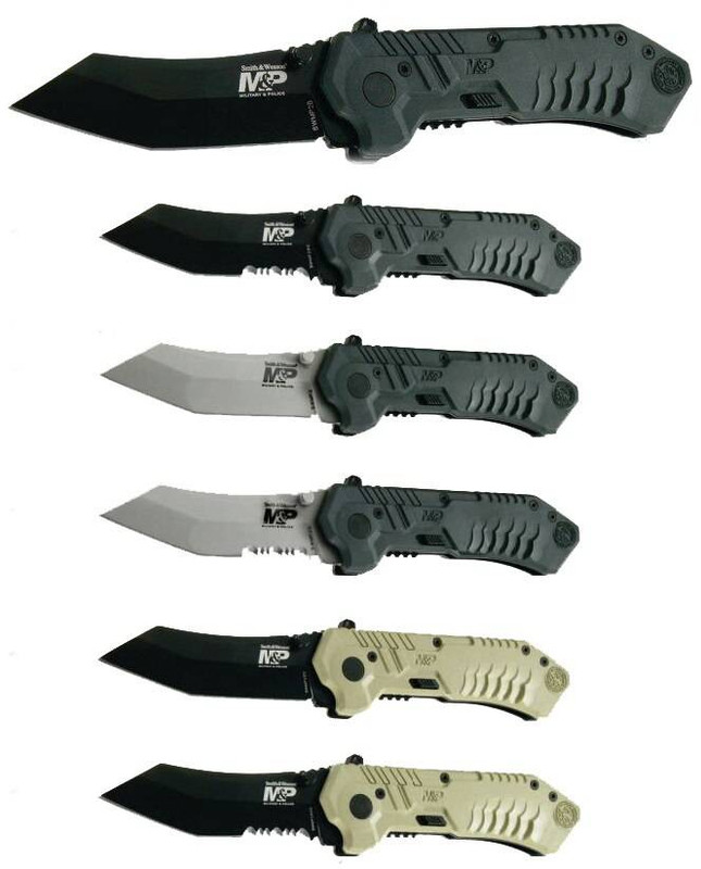 Smith and Wesson Military and Police Tanto MAGIC Assisted Knife SWMP2