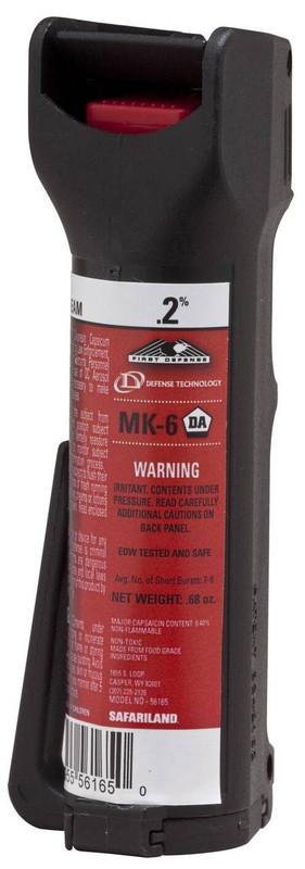 Def-Tec First Defense MK-6 Stream OC Pepper Spray Aerosol 5069-DT 734955506903