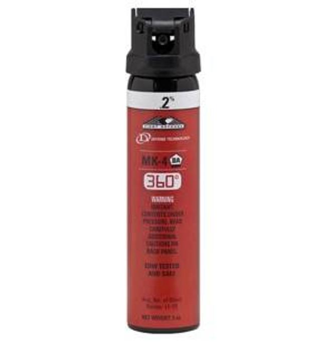 Defense Technology First Defense Stream 360 MK-4 Pepper Spray 5449-DT 734955544905