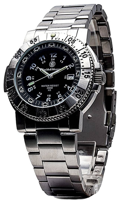 Smith and Wesson 357 Series - Aviator Watch 357-SS 024718135724