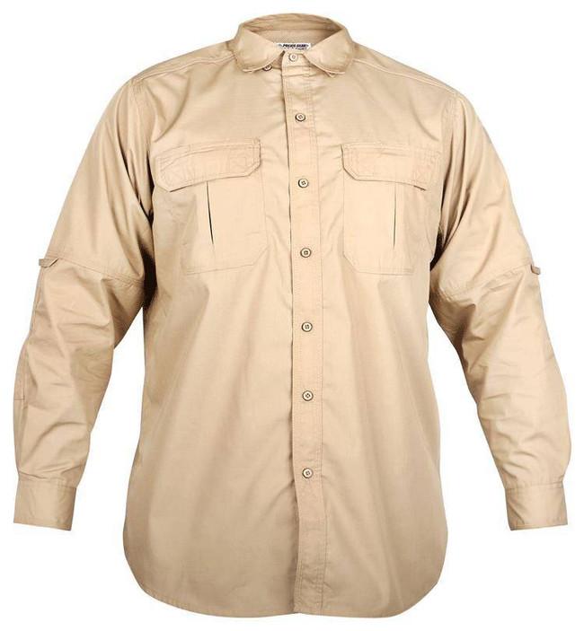 LA Police Gear Mens L/S Tactical Field Shirt TLS2016