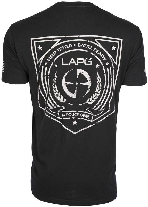 LA Police Gear Mens Field Tested T-Shirt S/S FIELD