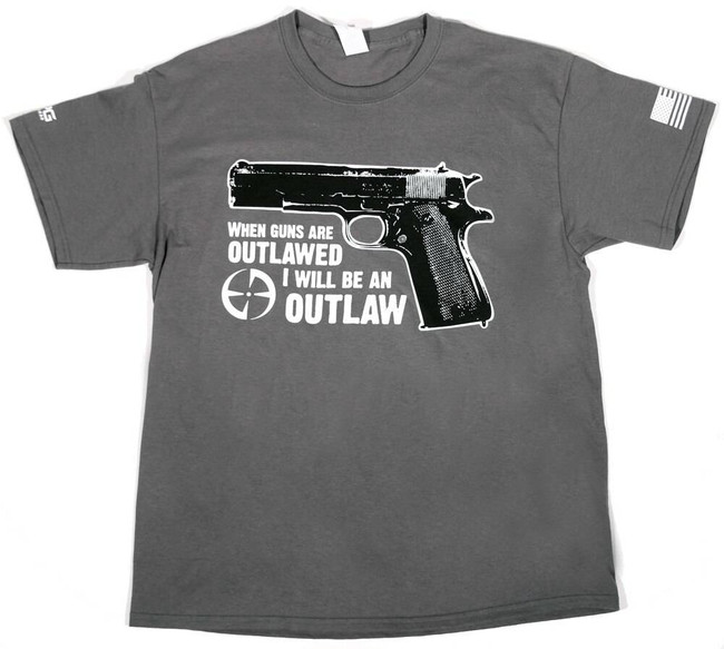 LAPG Ill Be An Outlaw T-Shirt OUTLAW