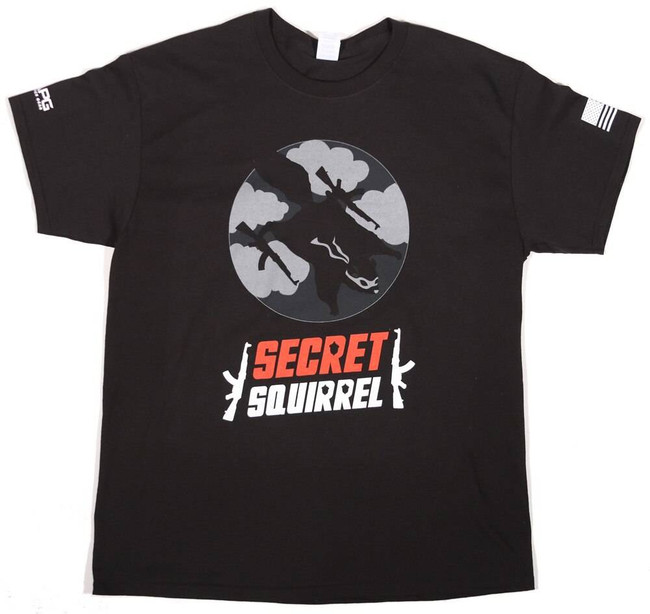 LAPG Secret Squirrel T-Shirt SQUIRREL