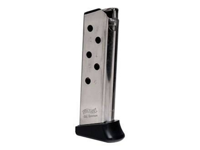 Walther Arms Mag 380ACP 6Rd Nickel PPK 2246010 2246010 723364203275