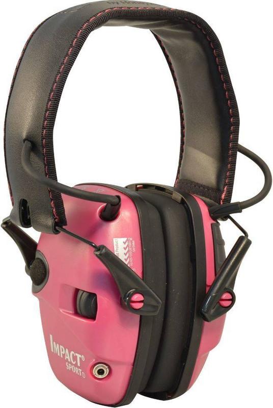 Howard Leight Pink Impact Sport Electronic Earmuff R-02523 033552025238