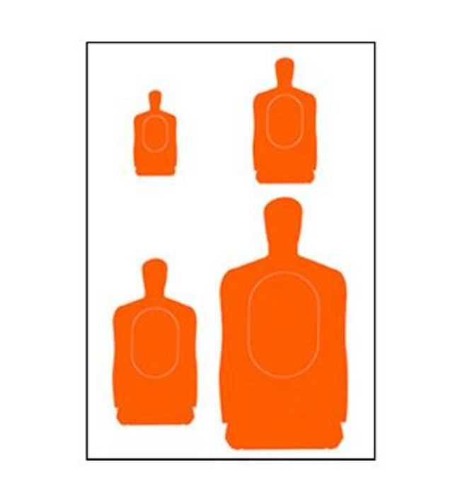 Law Enforcement Targets, Inc APG Multi-Target - Minimum Quantity of 25 APG 556532133256