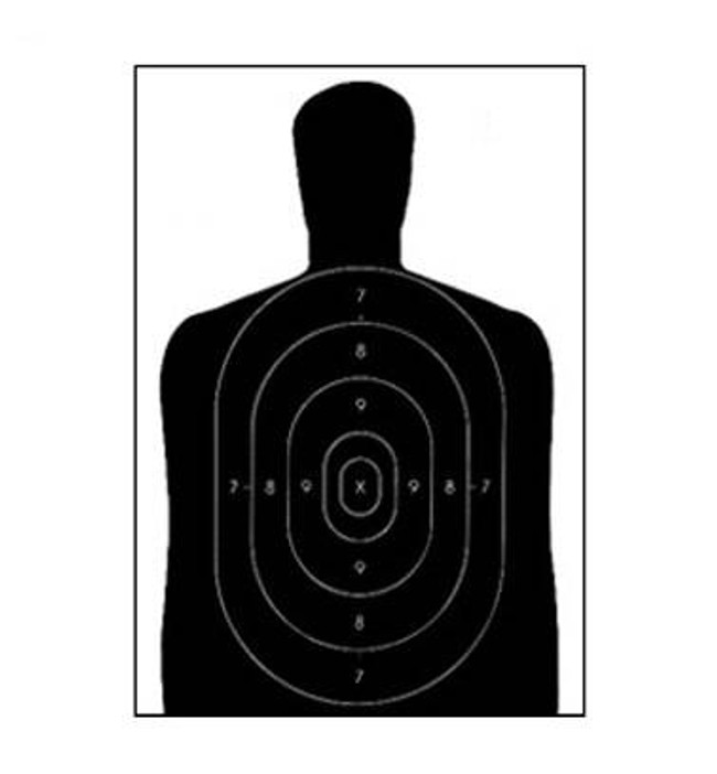 Law Enforcement Targets, Inc Economy Targets - Minimum Quantity of 25 B-27E
