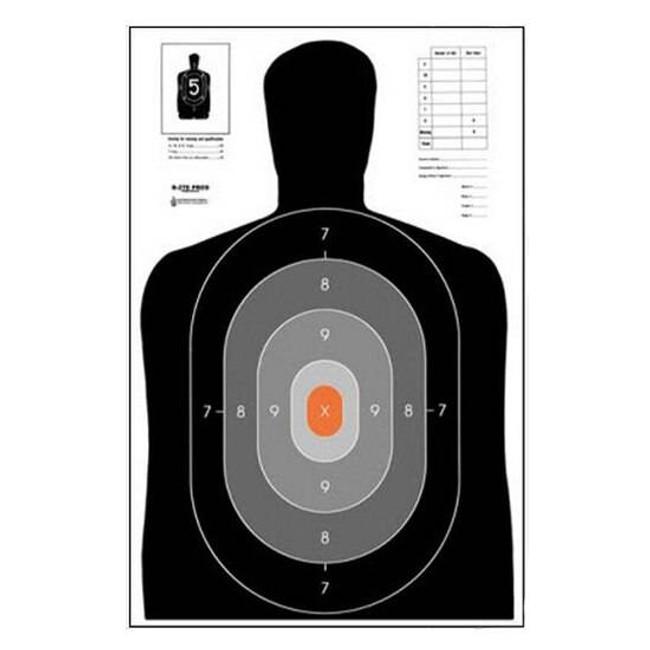 Law Enforcement Targets, Inc B-27E PROS Target - Minimum Quantity of 25 B27E-PROS