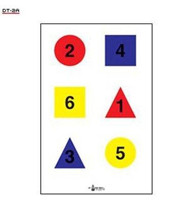 Law Enforcement Targets, Inc 4 Color Discretionary Target - Minimum Quantity of 25 DT-2