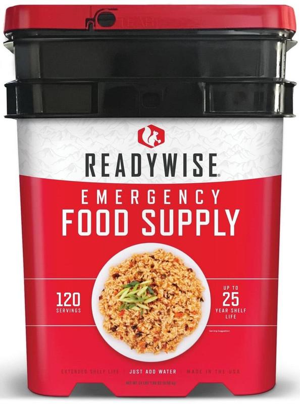 Ready Wise 120 Serving Entree Grab N Go Bucket RW01-120 094922068545