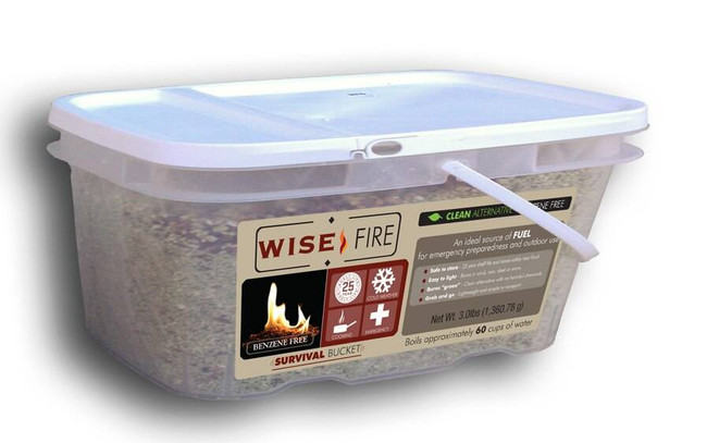 Wise Company 1 Gallon Bucket Wise Fire 01-620ISF 094922415615