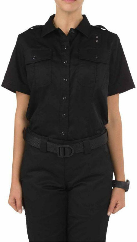 5.11 Tactical Womens Twill PDU Class A Short Sleeve Shirt 61158 61158
