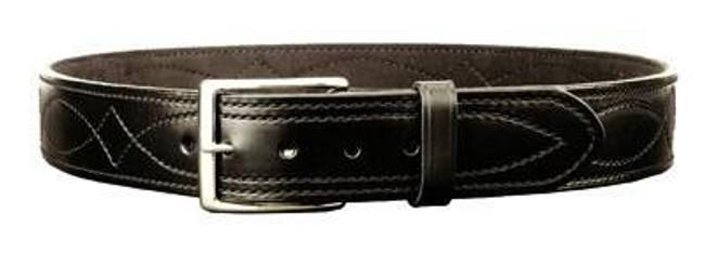 DeSantis Gunhide 1 3/4 Fancy Stitch Lined Belt B02