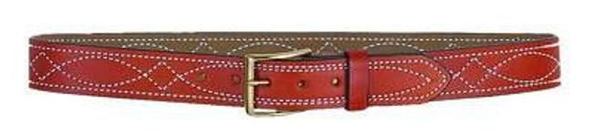 DeSantis Gunhide 1 1/2 Fancy Stitched Lined Belt B27