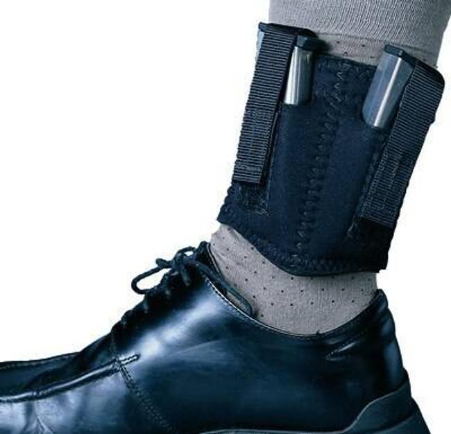 DeSantis Gunhide Neoprene Ankle Double Magazine Pouch N81BJZZZ0 792695248088