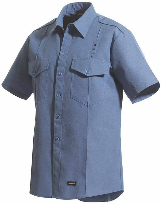 Workrite 4.5 oz Nomex IIIA Short Sleeve Fire Chief Shirt 700NX45