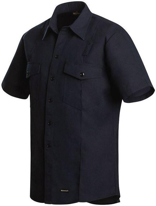 Workrite 4.5 oz Nomex IIIA Short Sleeve Western Firefighter Shirt 740NX45