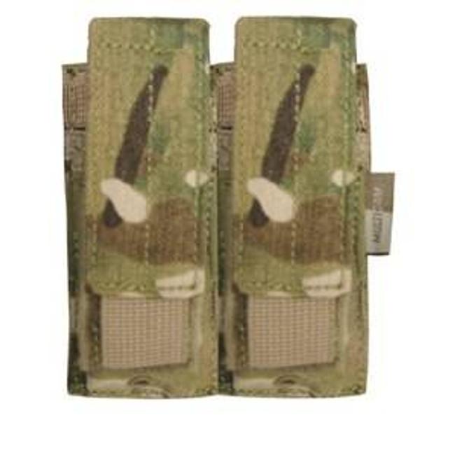 Condor MultiCam Double Pistol Mag Pouch MA23-008 022886023089