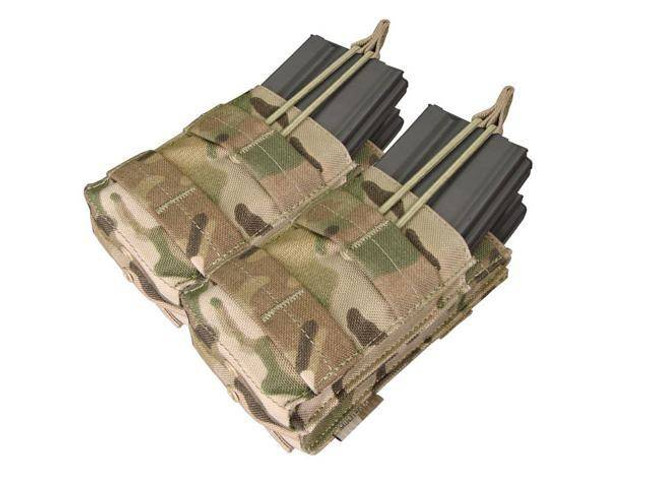 Condor Double Stacker M4 Mag Pouch - MultiCam MA43-008 022886043087