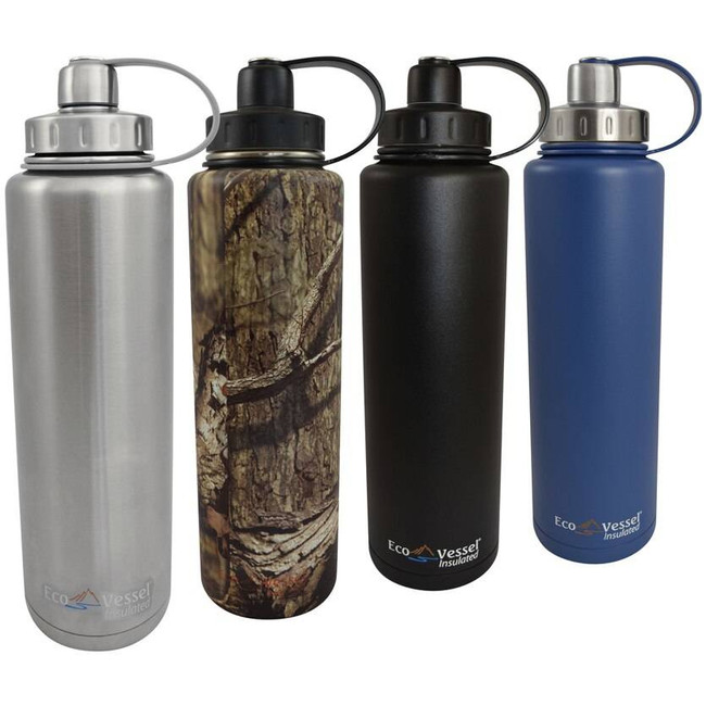Eco Vessel BIGFOOT Insulated Stainless Steel Water Bottle - 45 Oz BIG1300