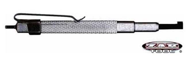 Zak Tool ZT13 Aluminum Pocket Handcuff Key Silver 13-ZA 120201201746