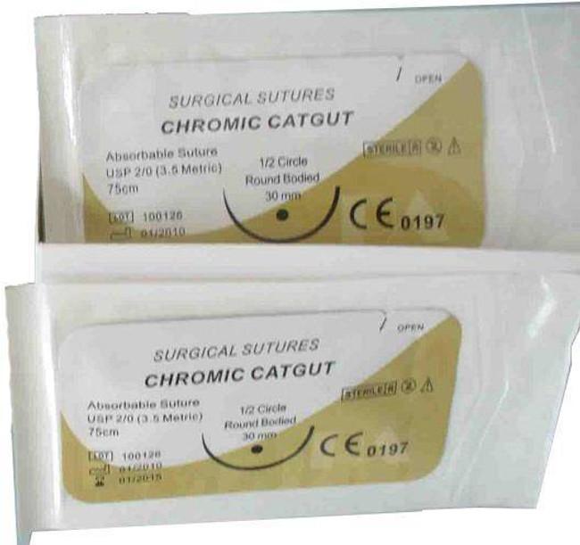 Elite First Aid Assorted Chromic Sutures 300C