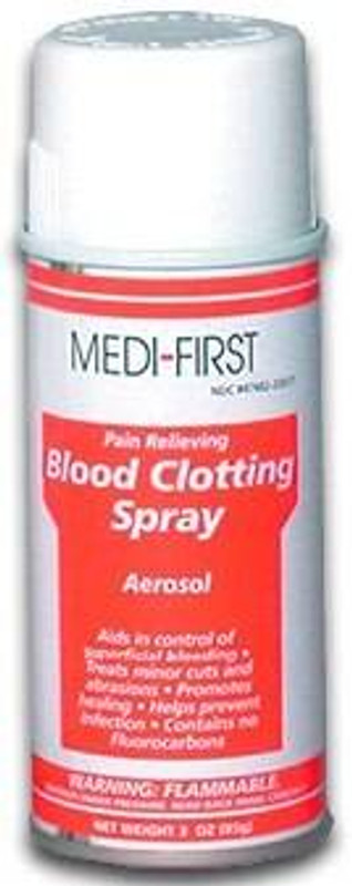 Elite First Aid Blood Clotting Spray 398 347682226176