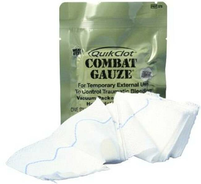 Elite First Aid Quick Clot Combat Gauze 415
